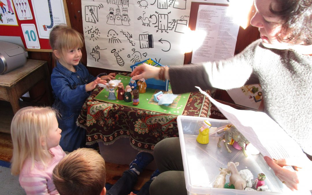 11 January : Active Story Making Inspires Children
