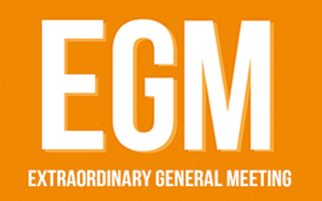 21 February : EGM Funding the Future