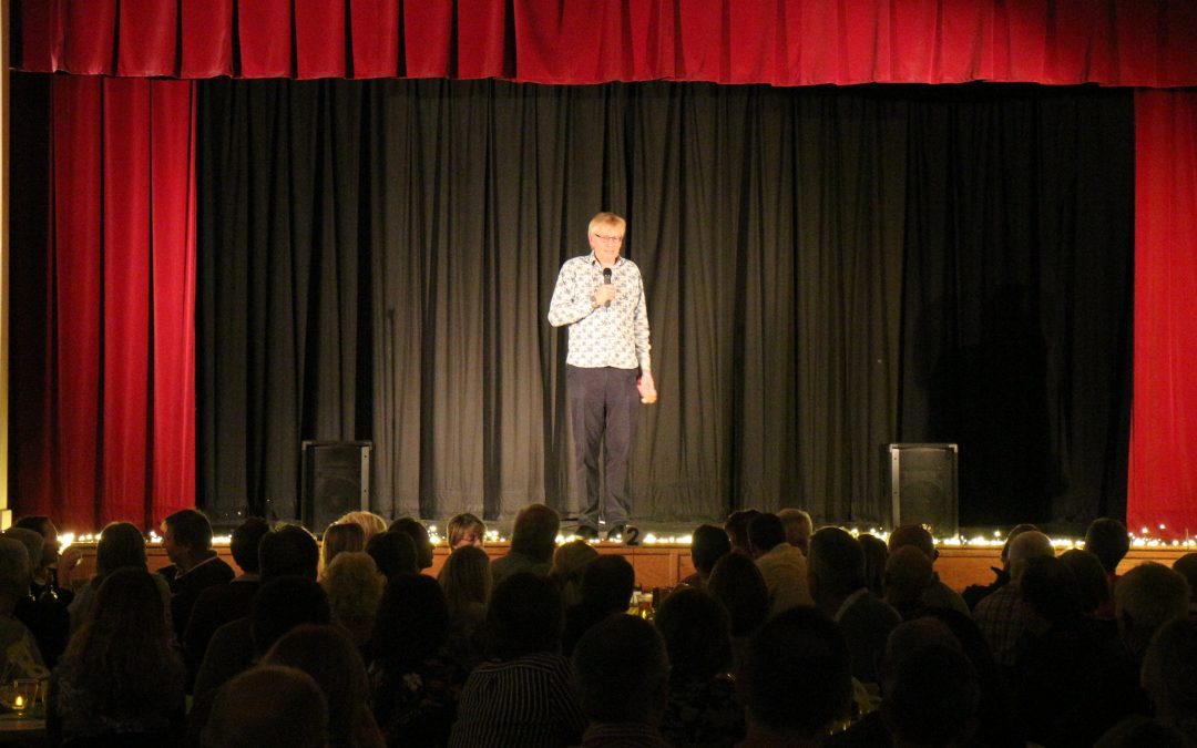 14 October : Dr Phil Gig is a Sell Out Success!